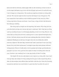 english reflection the changes to my writing process happened when i 2