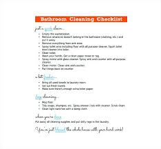 hourly checklist template bathroom cleaning checklist homefield