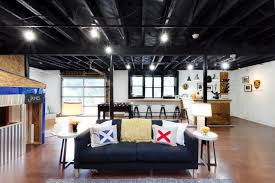 Image Result For Black Industrial Ceiling Beneš  Michl Office - Exposed basement ceiling
