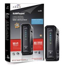 arris surfboard sbg6580 cable modem dual band n300 2 4ghz product view