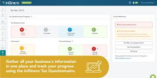Small Business Questionnaire Organize Small Business Taxes With Indineros Tax Questionnaire