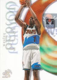 1998-99 E-X Century Basketball #51 Wesley Person | eBay