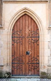 Medieval Doors gothic door at medieval castle in europe stock photo picture and 3193 by xevi.us