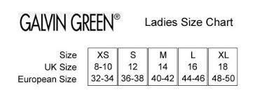 Galvin Green Size Chart Uk Galvin Green Daphne Ladies Insula Golf Jacket Amazon Co Uk