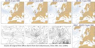4 Day Weather Chart D Day Analyses Ecmwf