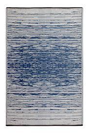 navy blue brooklyn outdoor rug