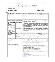 Editable Lesson Plan Templates For Spanish Class Lesson Plans Online