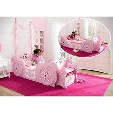 Princess Bed Blueprints Princess Carriage Bedroom Set Disney Princess White 6 Pc Twin