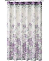 colorful fabric shower curtains. Home Classics® Francesca Fabric Shower Curtain, Purple Colorful Curtains E