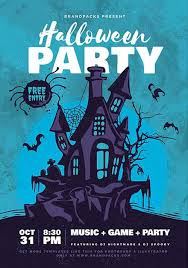 Flyer Poster Templates Get The Halloween Party Flyer And Poster Template Ffflyer