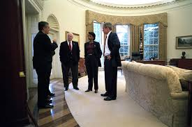 bush oval office. 911: President George W. Bush With Senior Officials In Oval Office, 10/ Office U