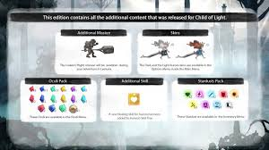 Child Of Light Ultimate Edition Switch Physical Child Of Light Ultimate Edition For Nintendo Switch