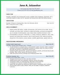 Director Of Nursing Resume Impressive Resume Sample For Entry Level Nurse