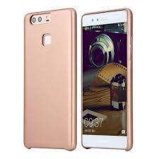huawei p9 gold. rock touch series back case skin-like hand feeling protective shell phone cover for huawei p9 gold