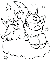 Coloring Pages Of Unicorns Printable Unicorn Coloring Pages And