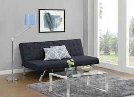 dhp emily futon couch bed modern sofa