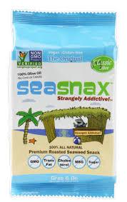 SeaSnax Classic Roasted Seaweed Snack, .18 OZ - Kroger