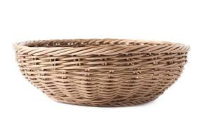 empty fruit basket. Exellent Basket Empty Fruit Wicker Brown Basket Bowl Isolated Over The White Stock Photo   39406241 On Fruit Basket A