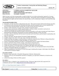 example australian resume food and beverage supervisor job description example australian