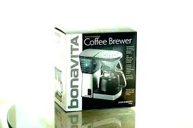 bonavita glass carafe 8 cup coffee maker with new lined replacement