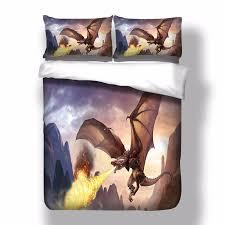 Anne Stokes Dragon Duvet Cover Pillow Cases Quilt Cover Bedding ... & Anne Stokes Dragon Duvet Cover Pillow Cases Quilt Cover Bedding Set All  Sizes Adamdwight.com