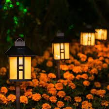 Gigalumi Solar Powered Path Lights Gigalumi Solar Powered Path Lights Solar Garden Lights Outdoor Landscape