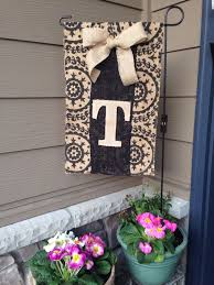 monogram mini garden flags peachy design ideas 5 best 25 burlap on yard
