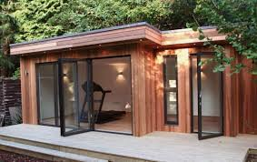 outside office shed. no need to extend with a shed conversion garden officeshed outside office