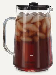iced tea pitcher with lid 6624