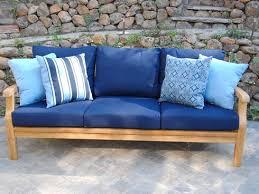 deep seating sofa teak furniture san leandro