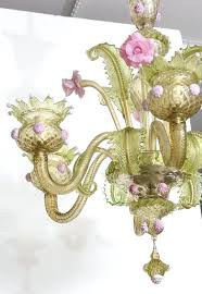 pink murano chandelier xv style green and pink glass chandelier and two sconces vintage pink murano pink murano chandelier