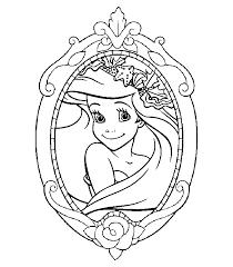 Kleurplaten Prinsessen Ariel Nvnpr