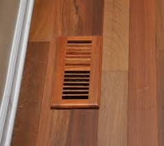 hardwood flooring vent