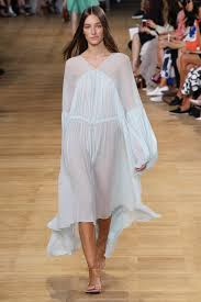 Chlo Stella And Sacai Make Clothes You Will Want To Wear Chloe Eyelet Babydoll Dress Spring