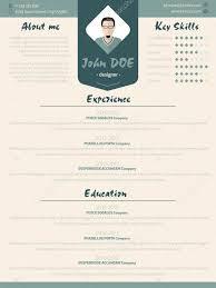 Cool New Modern Resume Curriculum Vitae Template With Design Ele