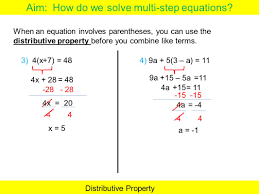 solving equations with paheses worksheets