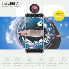 huawei 360 camera. insta360 air panoramic 360 camera 3k hd mini dual wide lens vr video huawei