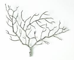 Edwin Metal Tree Branch Wall Sculpture