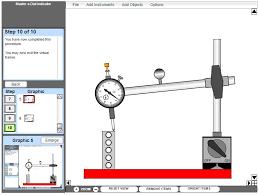 Shaft Straightness Tolerance Chart Multimedia Courseware Measurement Tools 1 M19017 Amatrol