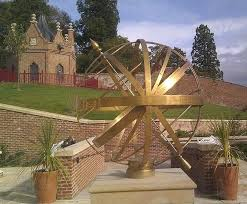 sphere sundial queen garden armillary decor bronze for sphere garden