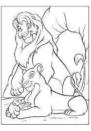 Small Picture Lion King Coloring Pages Animals Printable Coloring Pages