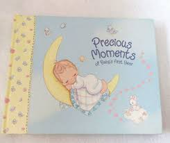 Baby Photo Album Book Precious Moments Baby Collection Babys First Year Memory