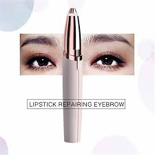 Mini Electric <b>Lipstick Eyebrow Trimmer</b> Face Brows Hair Remove ...