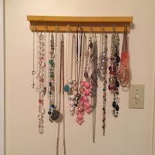 Diy Necklace Holder Diy Necklace Holder Stand