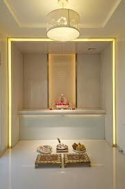 trendy color ideas for pooja room in