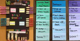 Daily Chore Chart Ideas