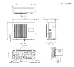aou24rlxfz multi zone (2 to 5 zones) halcyon™ multi room mini fujitsu mini split troubleshooting guide at Fujitsu Mini Split Wiring Diagram