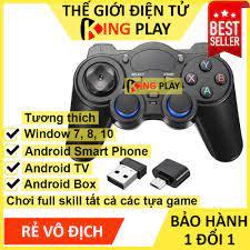 kho sẵn sàng] Tay cầm chơi game PC / Laptop / Điện Thoại / TV Android / TV  Box - Tay cầm chơi game không dây USB Blueto