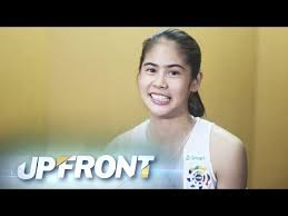 Upfront: Ateneo setter Deanna Wong answers your questions - YouTube