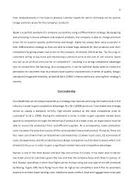 strategic management essay porter s generic strategies and strategi   fulfilling 3